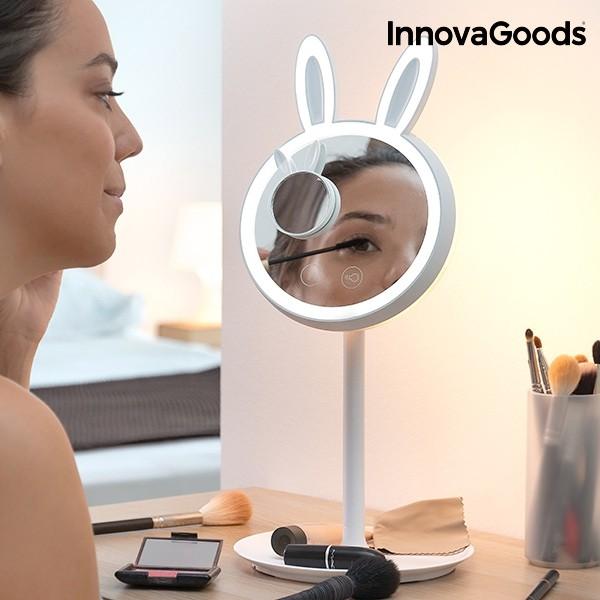 Espelho Led Para Maquilhagem 2 Em 1 Mirrobbit Innovagoods