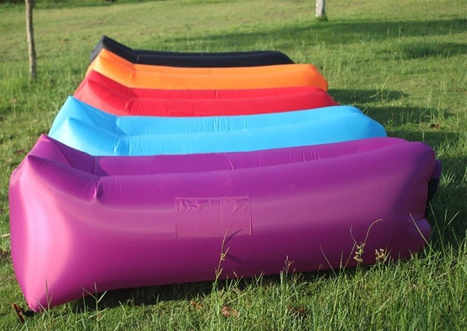 Cheap Price Hangout Inflatable Beach Bed Portable3