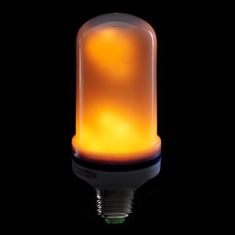 Lampada Led E27 Efeito De Chama 5w 25000h